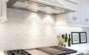 white kitchen mosaic backsplash home