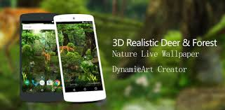 3d deer nature live wallpaper 1 6 8