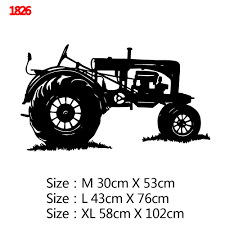 Classic Tractor Wall Stickers Home Decor For Boys Room Sticker Bedroom Wall Decal Removable Home Decoration Wallpaper Wall Stickers Aliexpress