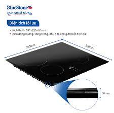 Bếp Âm Từ Đa Vùng Nấu Bluestone ICB-6845 (7100W) - Hàng Chính Hãng