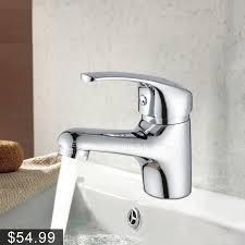 hot water bathroom sink faucet