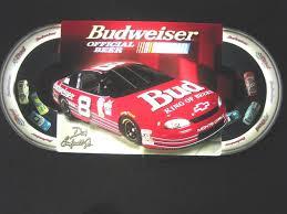 Vintage Budweiser Dale Earnhardt Jr 8 Nascar Moving Cars Bar Beer Sign Works Sportscards Com