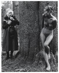 "Amy Feldtmann on Twitter: ""Imogen Cunningham and Twinka Thiebaud at  Yosemite (1974) by Judy Dater… """
