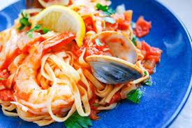 Spicy Shrimp and Clam Pasta Recipe