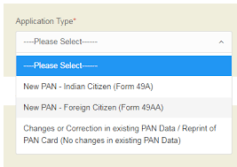 how to apply for pan card new