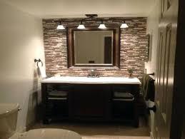 above mirror bathroom light fixtures