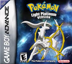 Pokemon Light Platinum Version - Homebrew - GBA