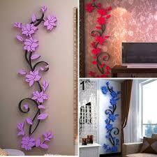 3d flower wall stickers decals vinyl