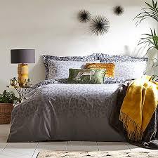 ombre leopard print reversible duvet
