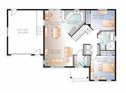 modern home floor plans open plan homes