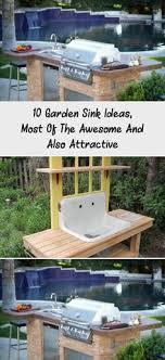 49 best outdoor garden sink images
