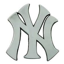 New Mlb New York Yankees Car Truck Automotive Team Heavy Duty Metal Emblem Decal Parts Accessories Other Decals Romeinformation It