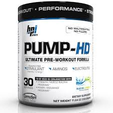 bpi sports pump hd ultimate pre
