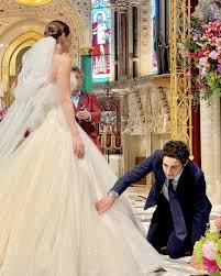 celebrity wedding gowns stylebistro