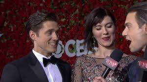 Red Carpet: Aaron Tveit & Mary Elizabeth Winstead (2016) - YouTube