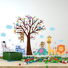 Ebern Designs Happy London Zoo Wall Decal Reviews Wayfair