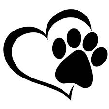 Cat Paw Print Window Decal Sticker Cat Paw Print Pawprint Tattoo Paw Print