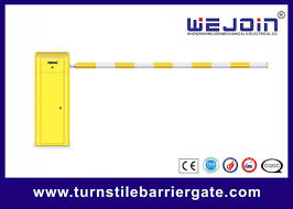 Straight Arm Vehicle Access Control Barrier Gate Fence Boom Electronic Clutch Design
