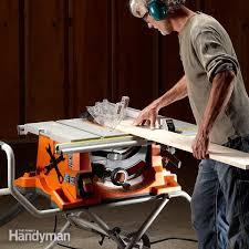 Portable Table Saw Reviews Diy Family Handyman
