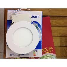 Set 5 đèn led âm trần mỏng 4w phi 90( tròn )