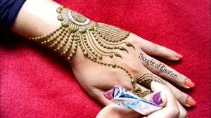 jewellery mehndi design simple craft