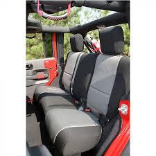 wrangler jk rear seat cover neoprene