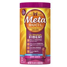metamucil smooth sugar free fiber