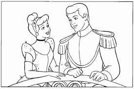 Assepoester En De Prins Op Het Feest Kleurplaat Gratis