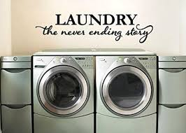 Laundry Room Wall Decal Sticker 19 5 W X 5 H Lucky Girl Decals