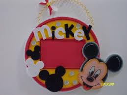 Portaretratos Colgante Mickey Mouse Manualidades Manualidades