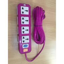 Ổ điện chống giật I Ổ điện chống giật 12 lỗ cắm