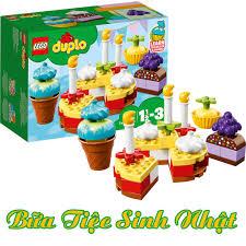 LEGO Duplo 10862 Đồ Chơi Xếp Hình Lắp Ráp Bữa Tiệc Sinh Nhật Đầu ...