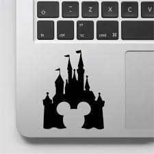 Cartoon Castle Wall Decal Mickey Mouse Vinyl Laptop Stickers Computer Decor For Girls Boys Switch Art Muraux Decals D807 Buy At The Price Of 1 47 In Aliexpress Com Imall Com