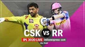 IPL 2020 Live Score, CSK vs RR Live ...