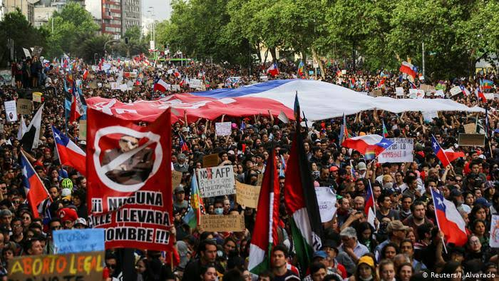 Image result for chile protests 2019""