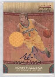 2007-08 Topps Trademark Moves - [Base] - Red Rookie Relics Ink In the Paint  [Autographed] #82 - Adam