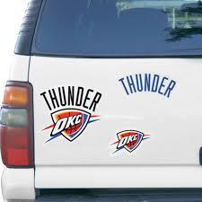 Oklahoma City Thunder Wincraft 11 X 11 3 Pack Vinyl Magnet Set