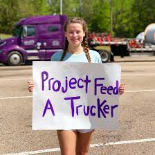 Local high-schooler launches 'Project Feed A Trucker' | Local News |  oanow.com