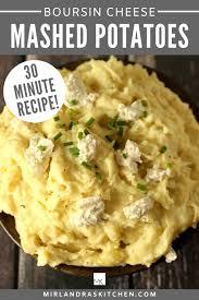 boursin cheese mashed potatoes