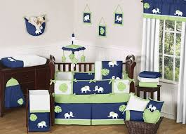 elephant baby bedding boy crib
