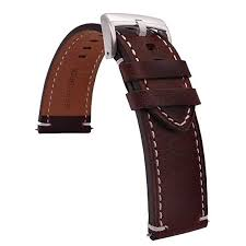 time4best strap leather watch bands for