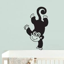 Wall Vinyl Decal Sticker Bedroom Decal Decal Monkey Kids Ape Copycat S Stickersforlife