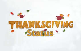 thanksgiving status captions quotes wishes messages