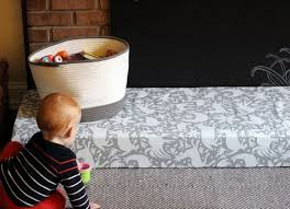 padded hearth cover for baby proofing