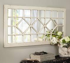 trellis mirror rectangle living