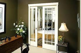 glass pocket doors interior