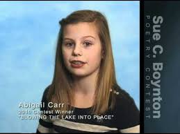 Abigail Carr - Blowing the Lake into Place - YouTube