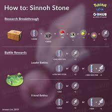 Learn how to win Sinnoh Stones in Pokémon GO - 2020