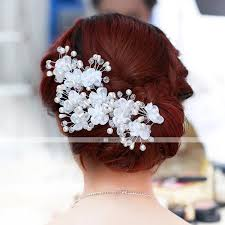 نسائي موضة لؤلؤ تقليدي سبيكة زفاف مناسب للبس اليومي ورد 7065391