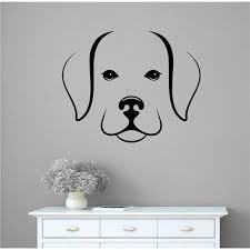 Winston Porter Beagle Dog Face Head Vinyl Words Wall Decal Wayfair